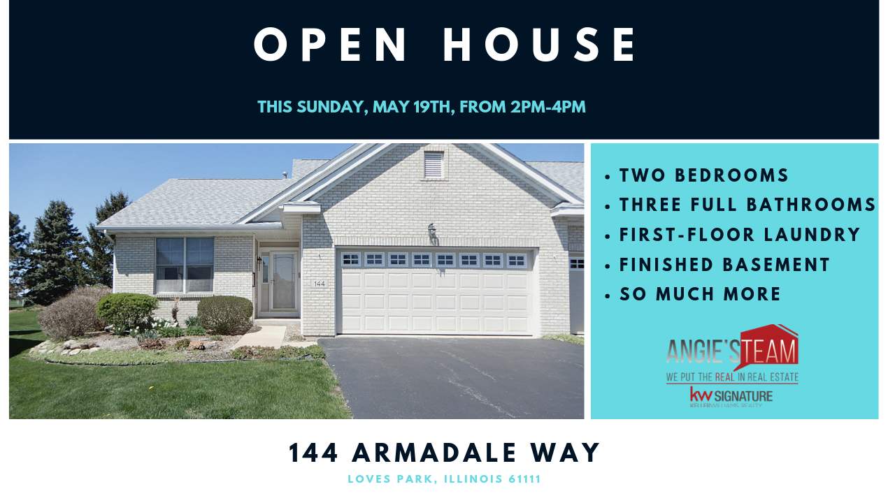 Open House: May 19th 2019