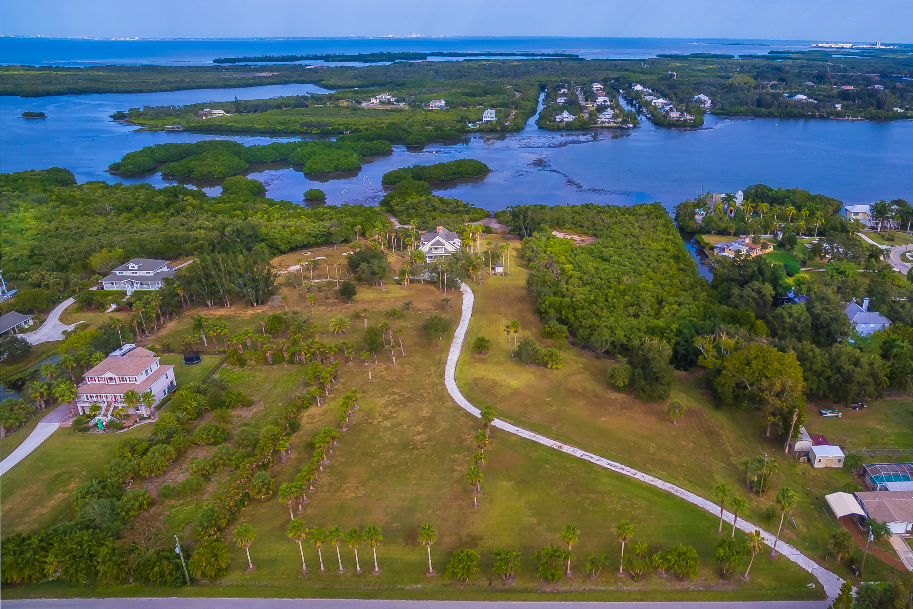 Nearly 10 Acres of Gorgeous Waterfront in Terra Ceia
