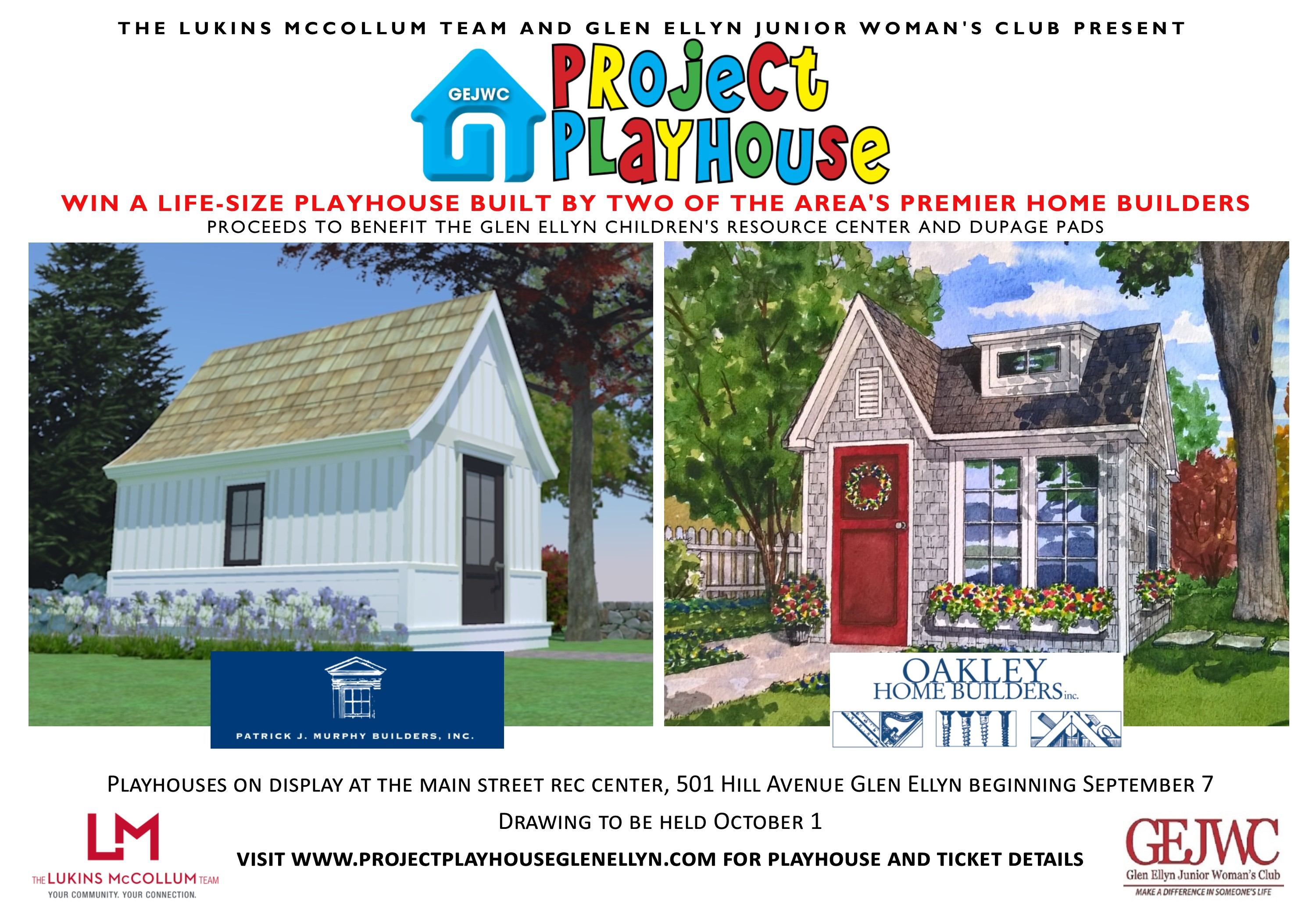 Project Playhouse 2016 Raffle