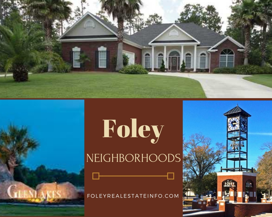 Foley AL Neighborhoods