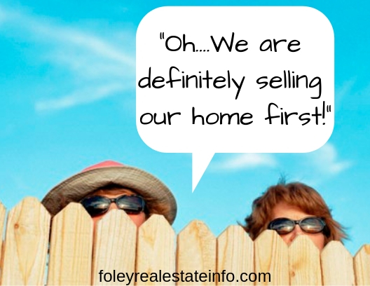 Nosy Neighbors - Selling Home First