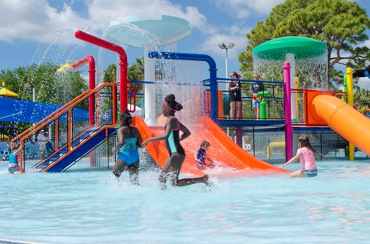 Water Play Areas in Local Parks