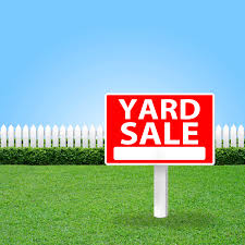 Get Rid of Clutter with These 7 Yard Sale Tips