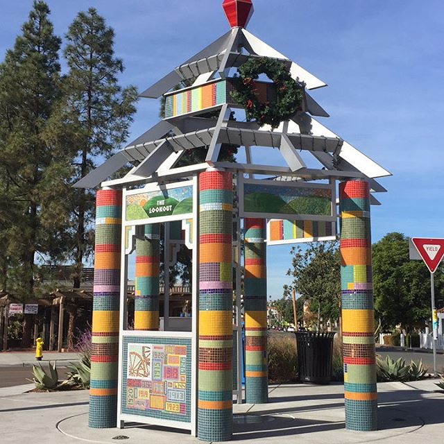 Enjoy small-town ambiance in the La Mesa Village area