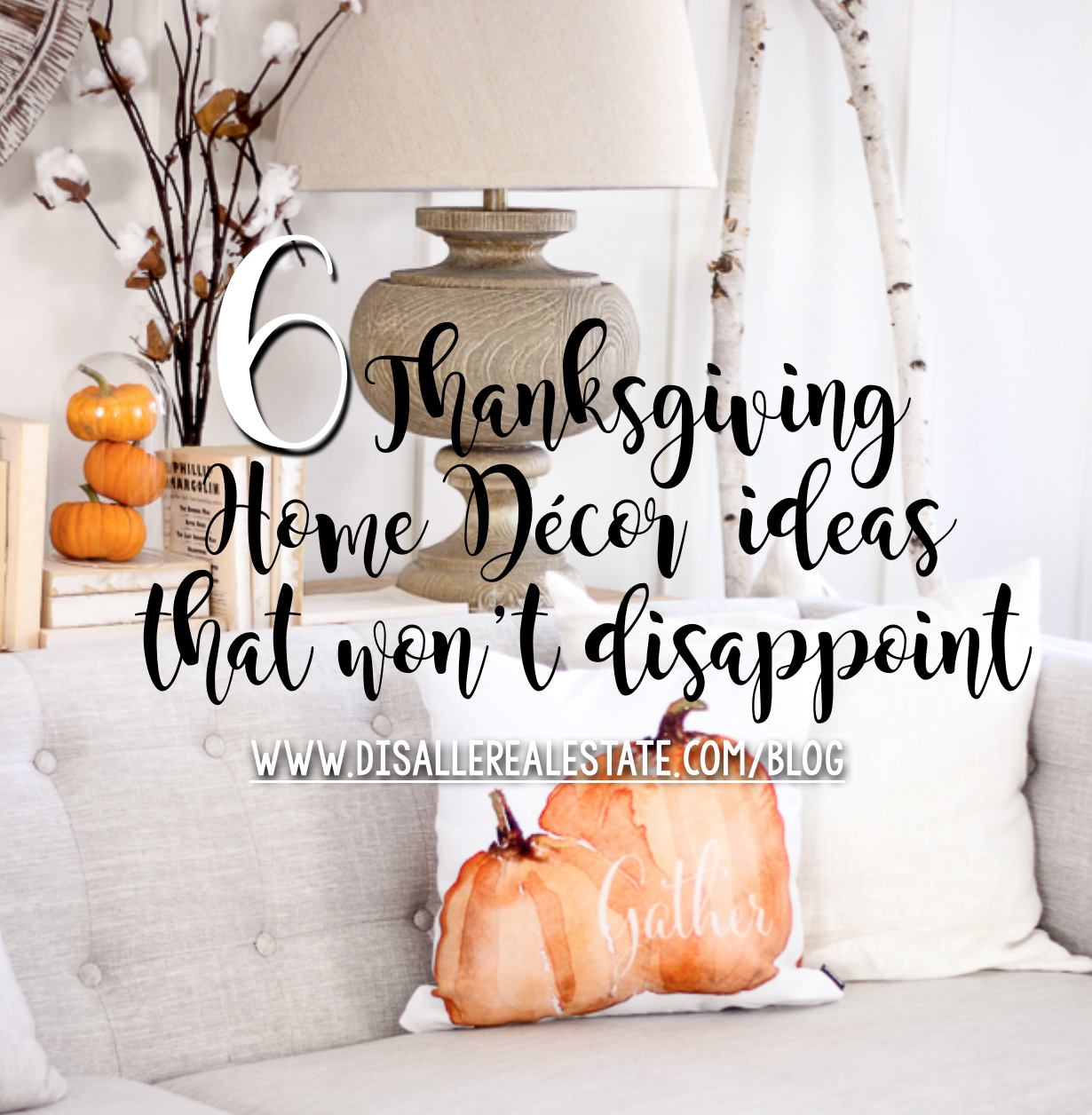 6 Pinterest Thanksgiving Home Decor Ideas That Won't Disappoint