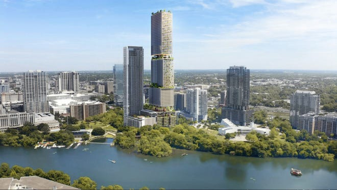 Downtown Austin tower would become city's second-tallest
