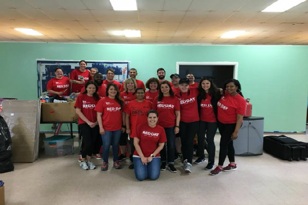 On RED Day, Keller Williams Realty's annual day of service, associates spend the day away from their businesses serving worthy organizations and causes in their communities.