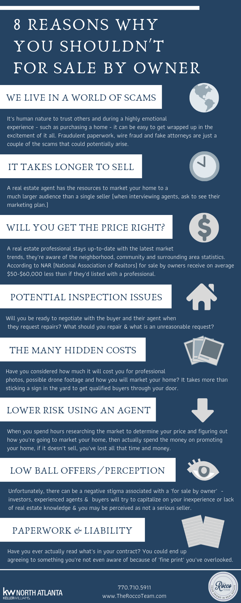 8 Reasons Why You Shouldn't For Sale By Owner – blog