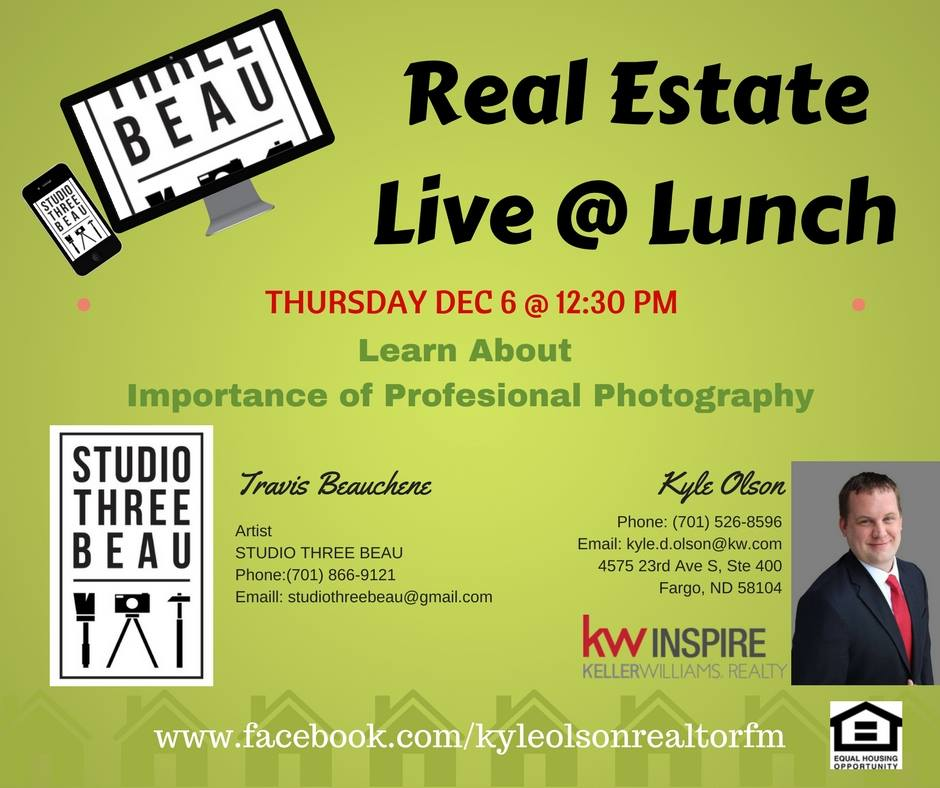 Real Estate Live @ Lunch – Photography