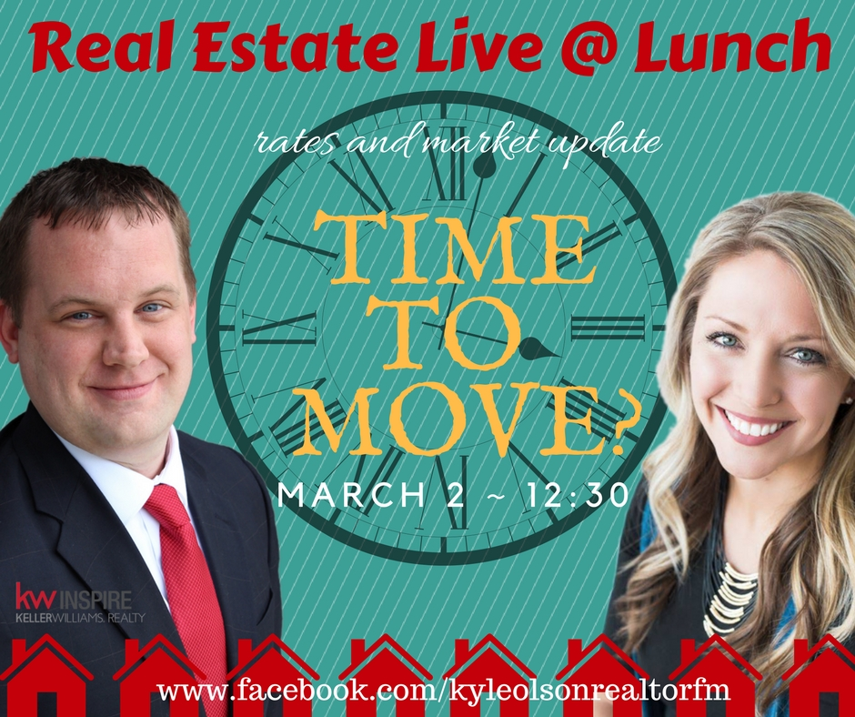 Time to Move?  Real Estate Live @ Lunch