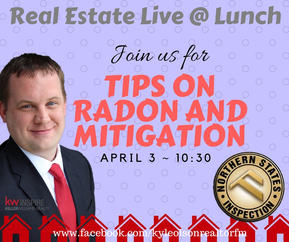 Real Estate Live @ Lunch Tips on Radon and Mitigation