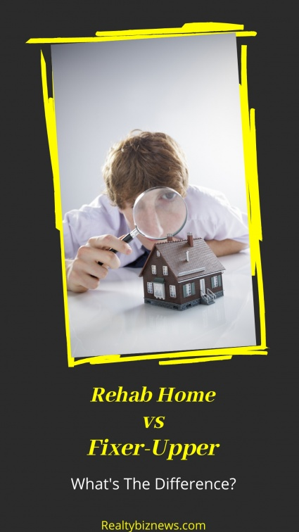 What's The Difference Between A Fixer-Upper And A Rehab Home?
