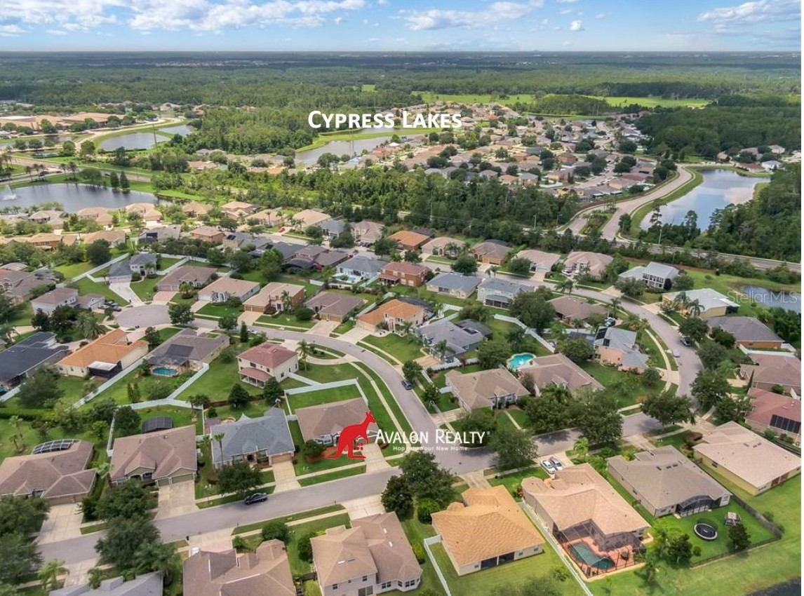 The Cypress Lakes area of East Orlando, conveniently located about 10 - 15 minutes from the Waterford Lakes Mall, close to UCF, and several major companies like Siemens.  Homes range in price from $265,000 to $600,000 cluster in a variety of neighborhoods, some of which are gated.  CLICK the image below to view details of the area which most interested you.