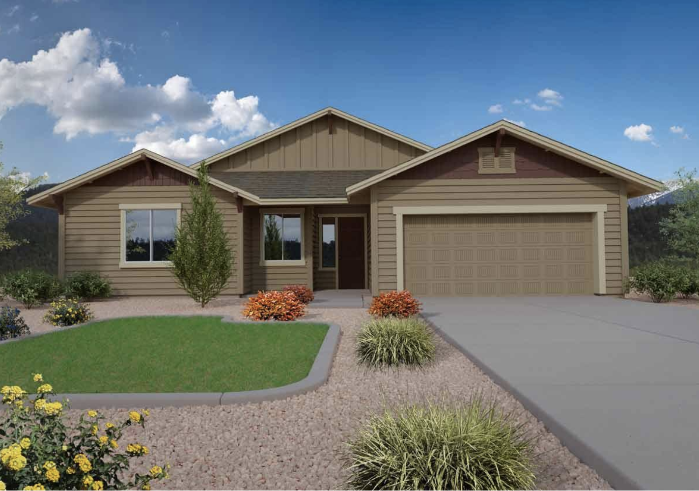 Finished Flagstaff Meadows Home in Bellemont, AZ