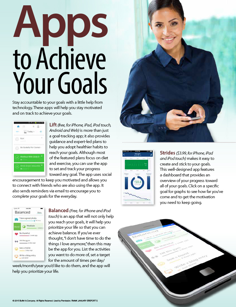 Apps That Help Achieve Your Goals