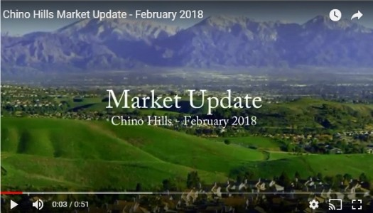 Chino Hills Market Update - February 2018