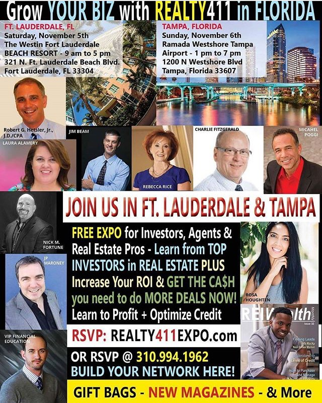 New Florida Real Estate Event