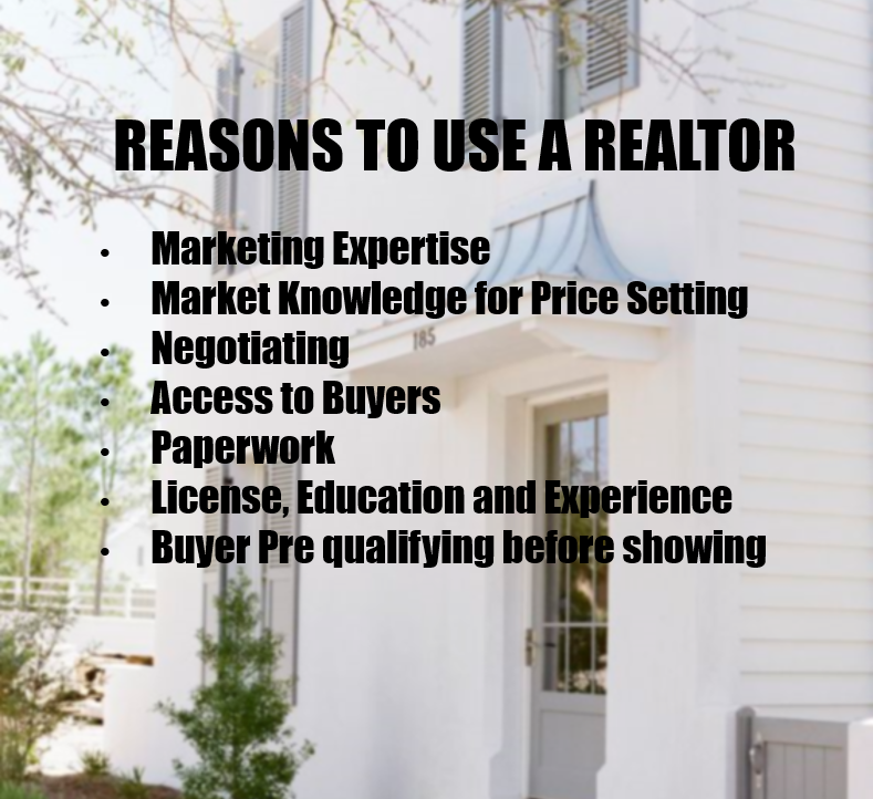REALTOR vs For Sale By Owner