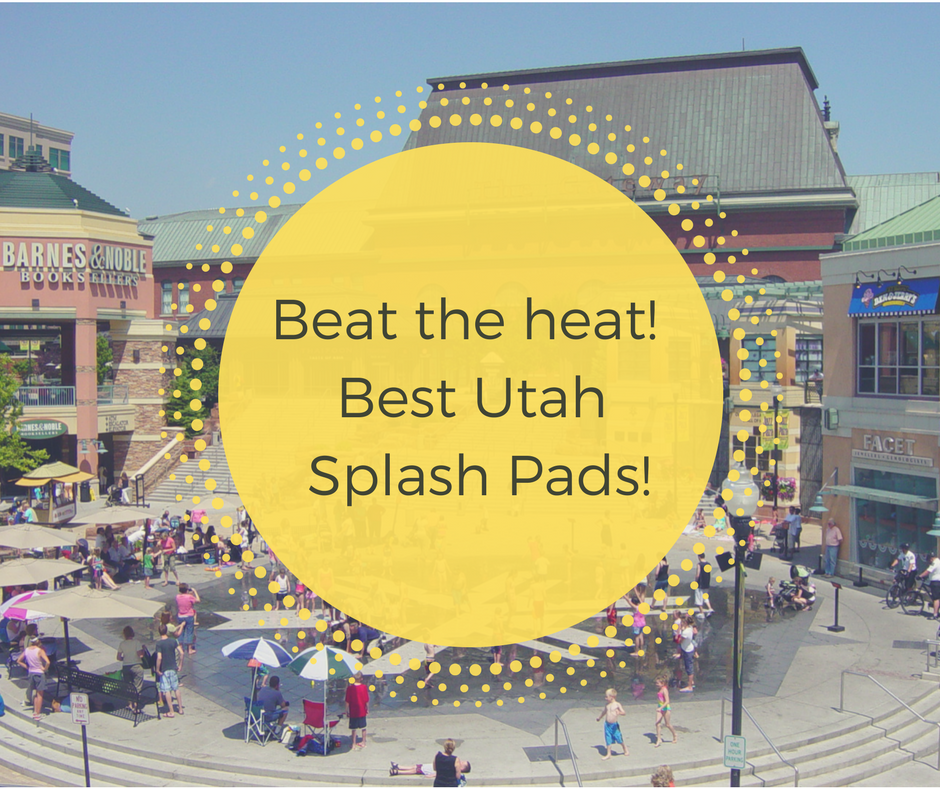 Beat the Heat- UT Splash pads!