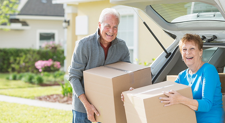 Baby Boomers are downsizing in great numbers