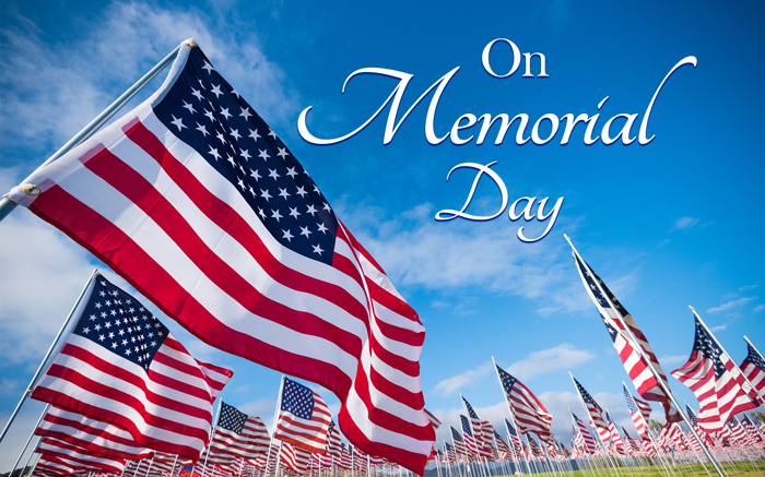Memorial Day - The Day To Reflect On The Freedoms We Enjoy