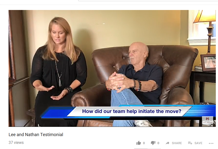 Video Testimonial from Senior and his Adult Daughter