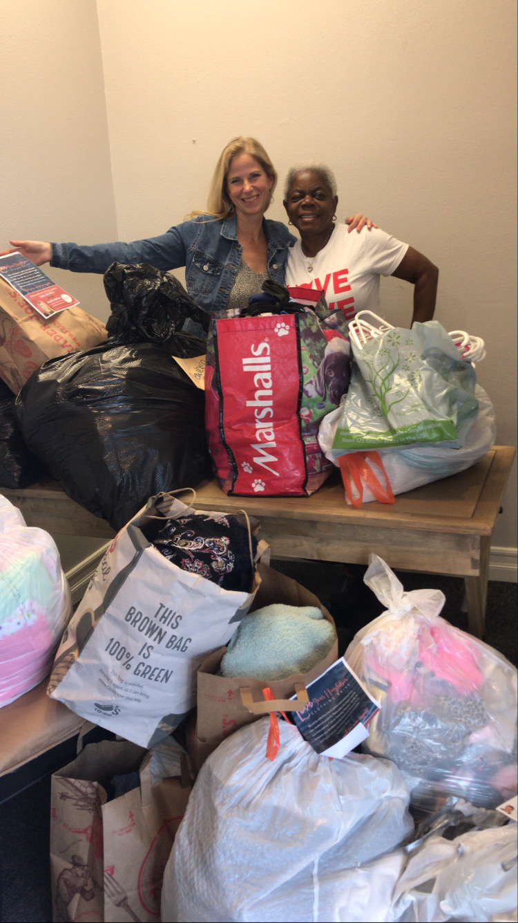 David and Margaret Clothing Drive