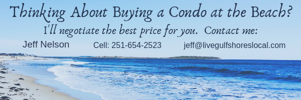 Buying a Condo in Orange Beach? Contact Jeff Nelson