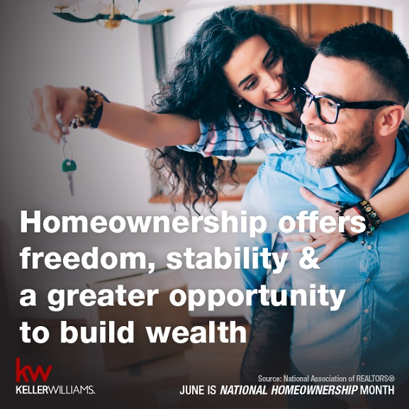 June is Home Ownership Month!