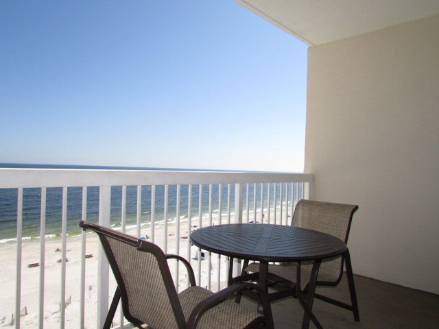 Caribbean in Gulf Shores - balcony view