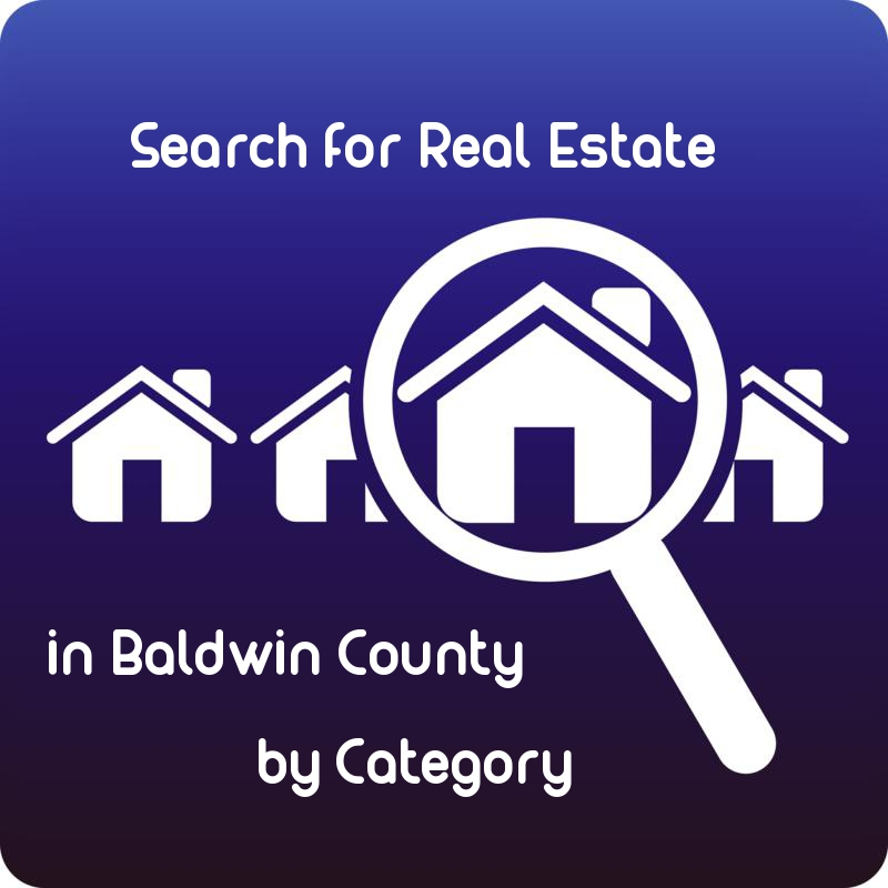 Search for Real Estate in Baldwin County by Category