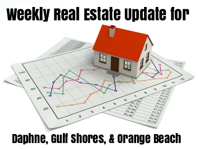 Weekly Real Estate Update - Daphne, Gulf Shores, and Orange Beach - 7/31/17