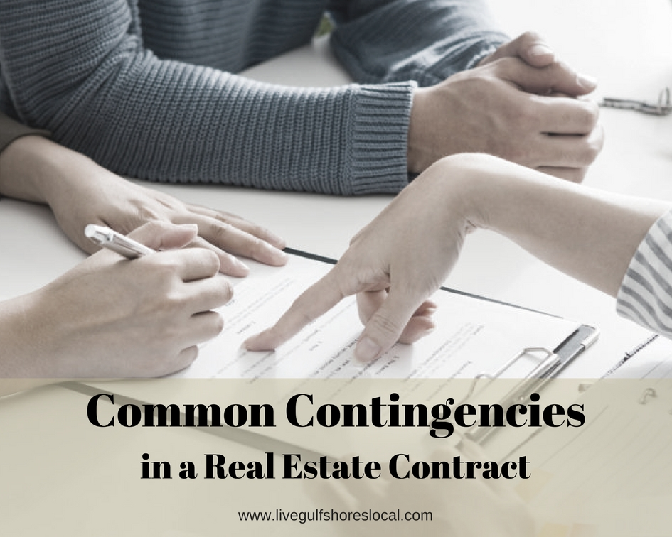 Common Contingencies in a Real Estate Contract