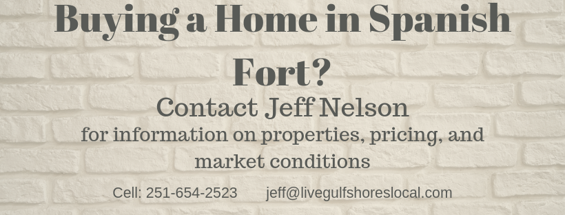 Buying in Spanish Fort - Contact Jeff Nelson