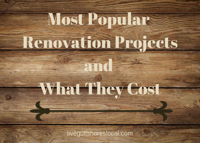 Most Popular Renovation Projects