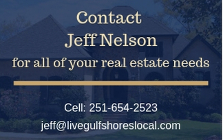 Buying in Daphne? Contact Jeff Nelson