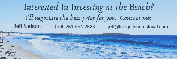 Investing in Gulf Shores and Orange Beach? Contact Jeff Nelson