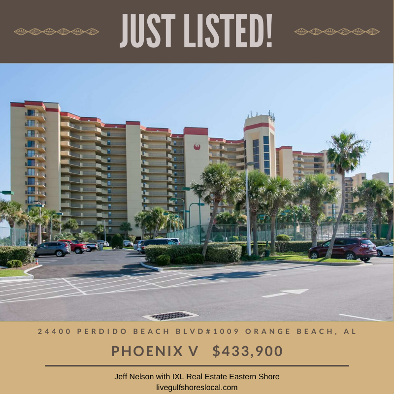 Just Listed - Phoenix V #1009 Orange Beach