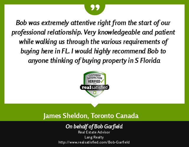 Testimonial from Canadian Buyers