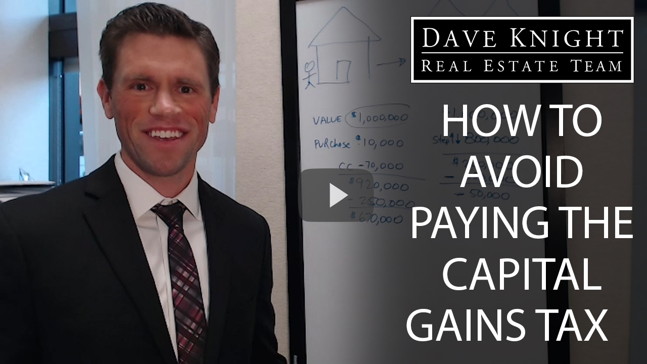 How to Negate Capital Gains Taxes When Selling a Property Part 1