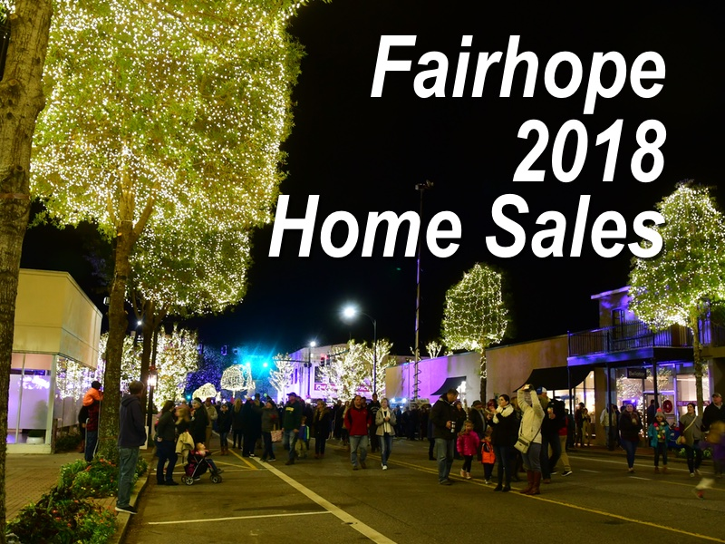 Fairhope home sales report – JAN-OCT 2018