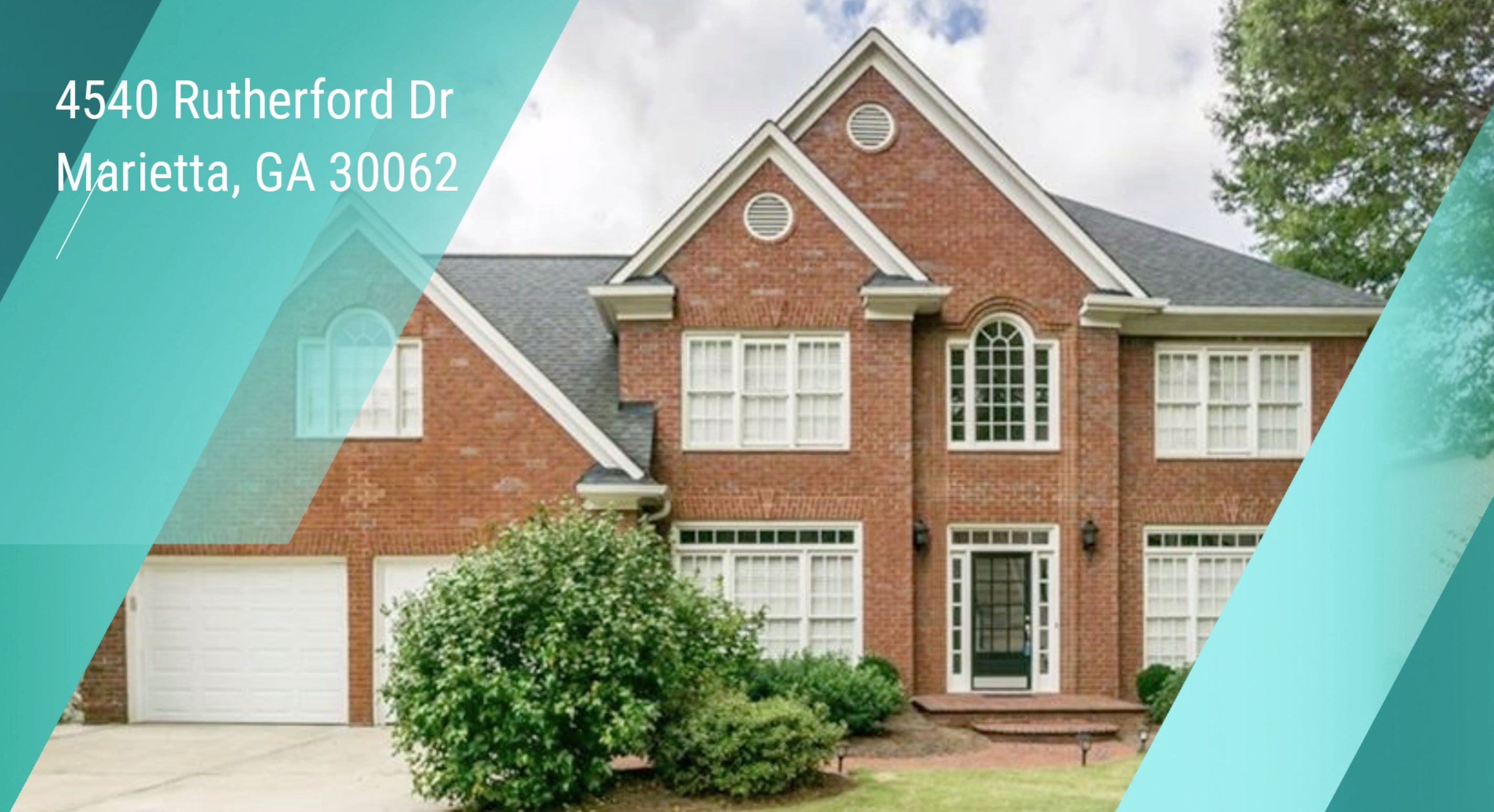 GORGEOUS HOME FOR SALE IN EAST COBB, WALTON DISTRICT