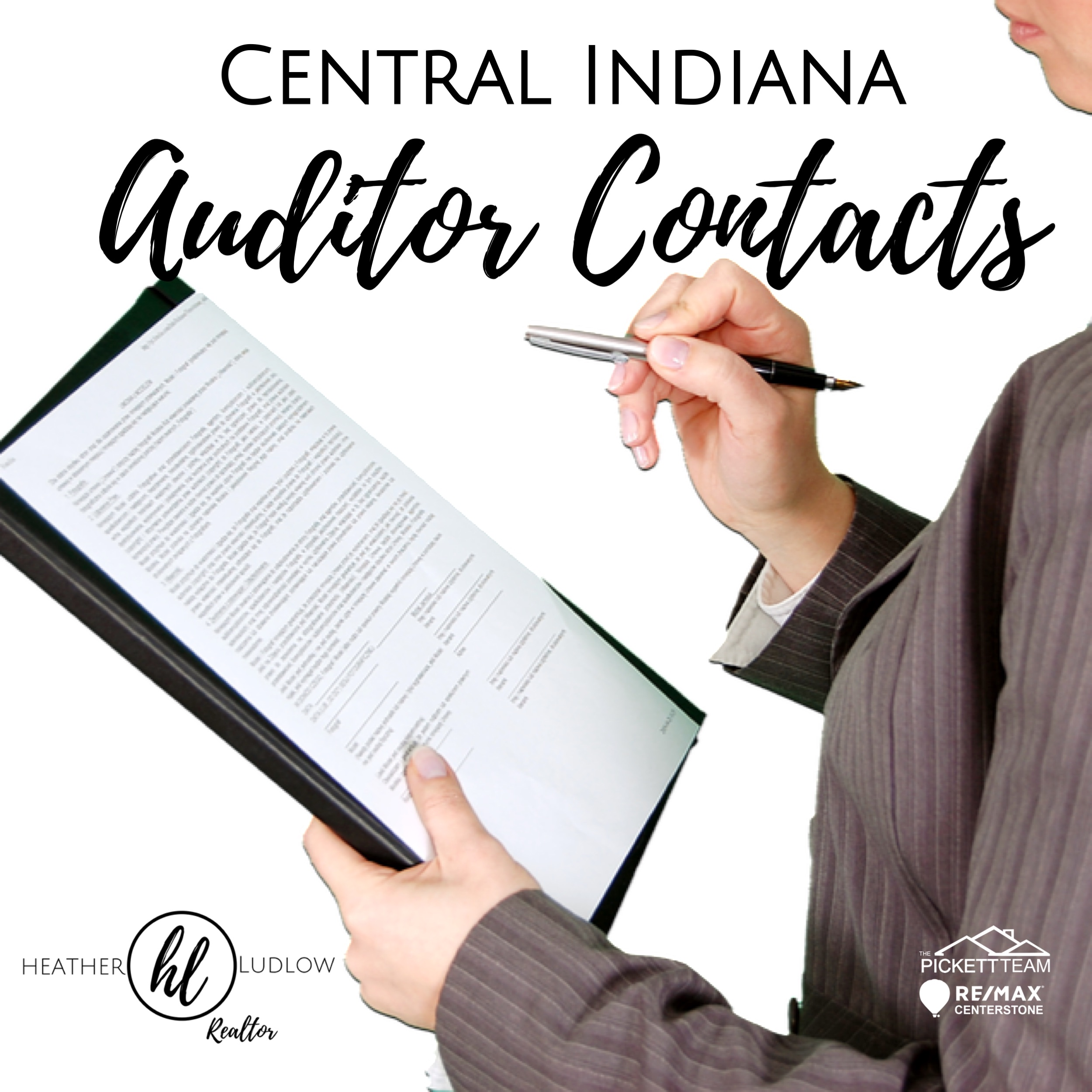 Central Indiana Auditor Contacts and Property Tax forms