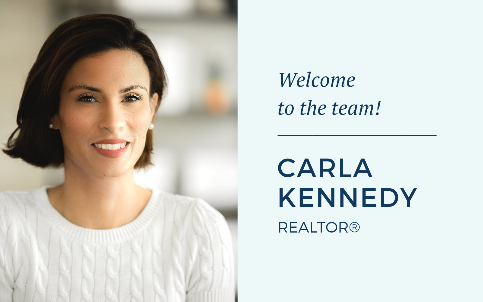 MRE | AP Welcomes New Agent Carla Kennedy