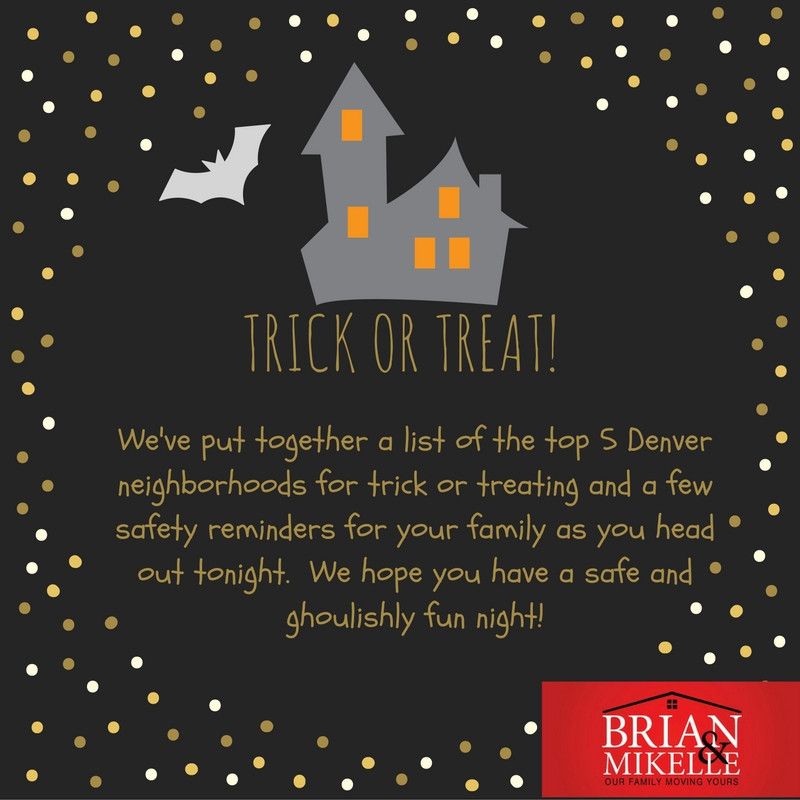 Top Five Denver Neighborhoods for Trick or Treating