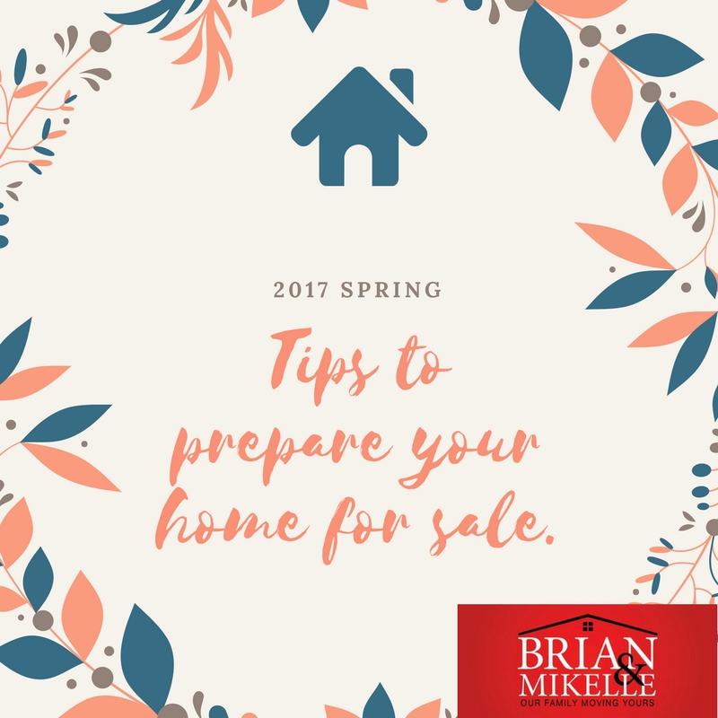 Tips to prepare your home for sale in 2017.