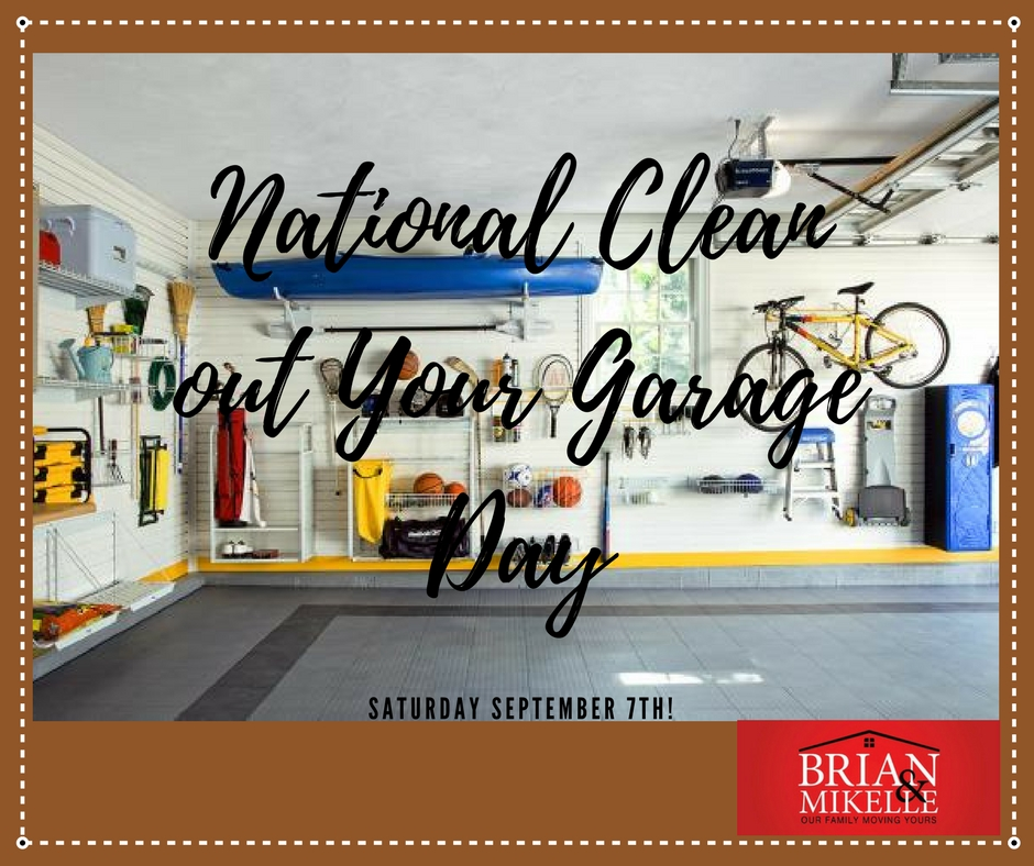 National Clean Out Your Garage Day!