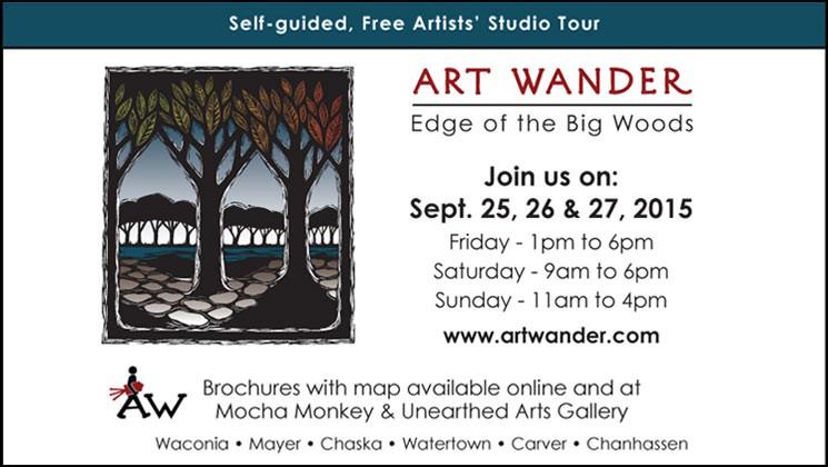 Art Wander 2015 Studio Tour