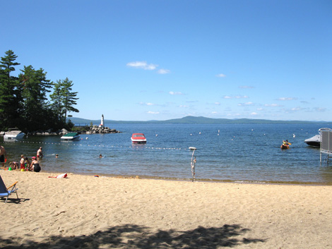 Sebago Lake - Maine's Second Largest Lake