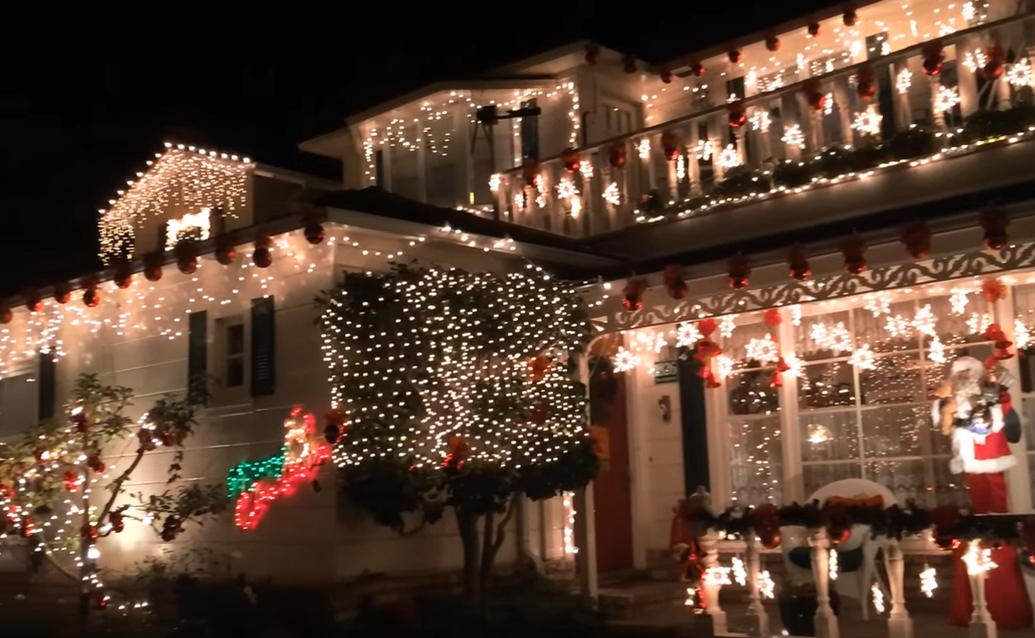 Best Streets for Christmas Lights in the Bay Area